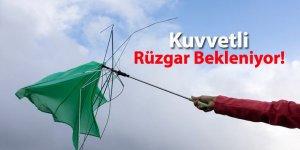 Meteoroloji'den Rüzgar Uyarısı!