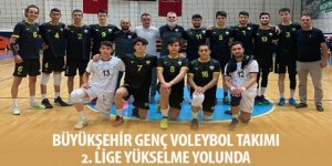 Büyükşehir Genç Voleybol Takımı 2. Lige Yükselme Yolunda