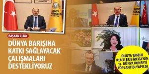 Dünya Tarihi Kentler Birliği'nin 17. Dünya Konseyi Toplantısı Yapıldı