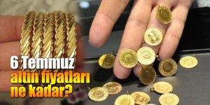 6 Temmuz altın fiyatları ne kadar?