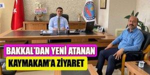 Başkan Bakkal'dan, yeni Kaymakam Selçuk'a hayırlı olsun ziyareti