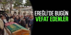 30 Temmuz Ereğli'de Vefat Edenler