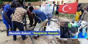"""Mustafa Özkurt: """"Gariplerin Yanında Olmaya Devam Ediyoruz"""""""