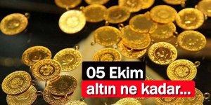 5 Ekim 2021 Altın fiyatları