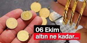 6 Eylül çeyrek ve gram altın fiyatları ne kadar?