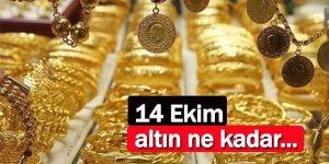 14 Ekim 2021 altın fiyatı…