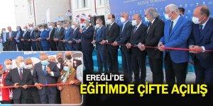 Ereğli'de Çifte Açılış İle İki Eğitim Yuvası Hizmete Açıldı