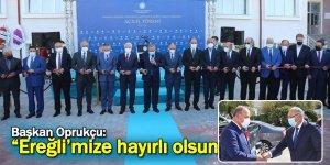Ereğli'de İki Okulun Açılışı Gerçekleşti
