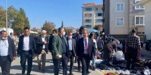 Konya Milletvekili Abdüllatif Şener Ereğli Esnafını gezdi