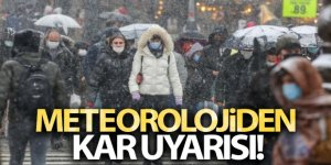 Meteorolojiden kar uyarısı